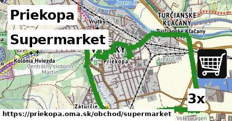 supermarket v Priekopa