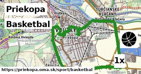 basketbal v Priekopa