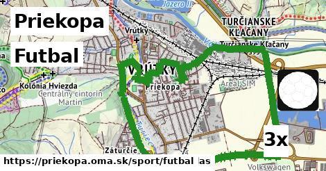 futbal v Priekopa