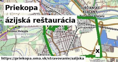ázijská reštaurácia v Priekopa