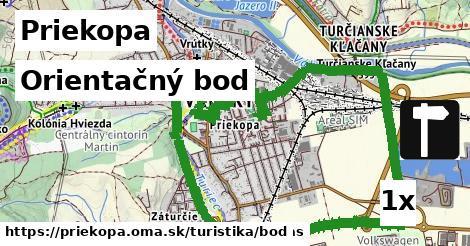 orientačný bod v Priekopa