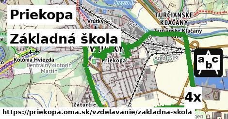 základná škola v Priekopa