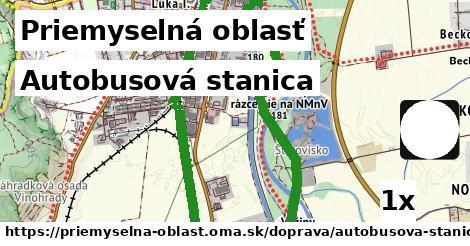 autobusová stanica v Priemyselná oblasť