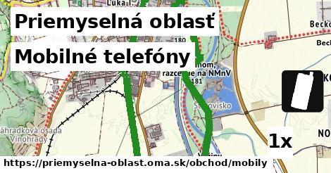 ilustračný obrázok k Mobilné telefóny, Priemyselná oblasť