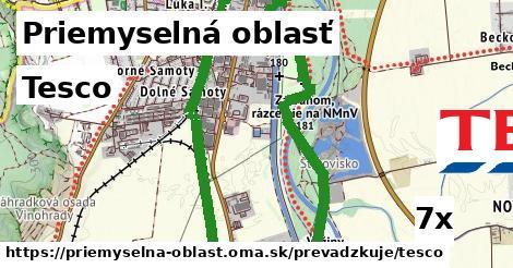 ilustračný obrázok k Tesco, Priemyselná oblasť
