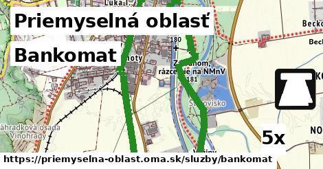 ilustračný obrázok k Bankomat, Priemyselná oblasť