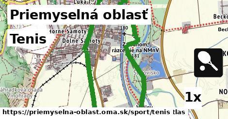 ilustračný obrázok k Tenis, Priemyselná oblasť