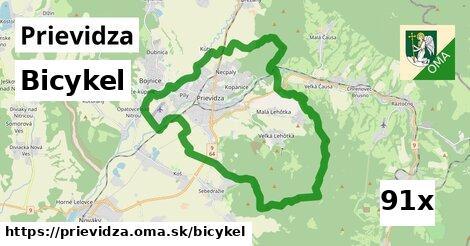 bicykel v Prievidza