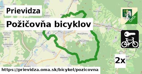 požičovňa bicyklov v Prievidza