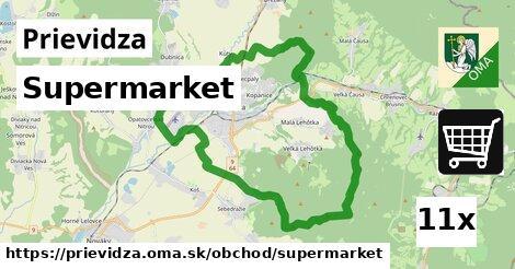 supermarket v Prievidza