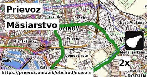 mäsiarstvo v Prievoz