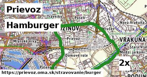 hamburger v Prievoz