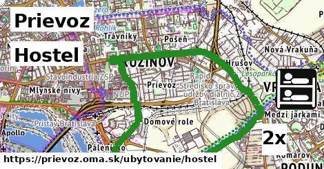 hostel v Prievoz