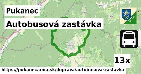 ilustračný obrázok k Autobusová zastávka, Pukanec