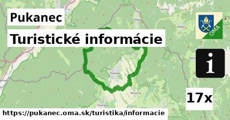 turistické informácie v Pukanec