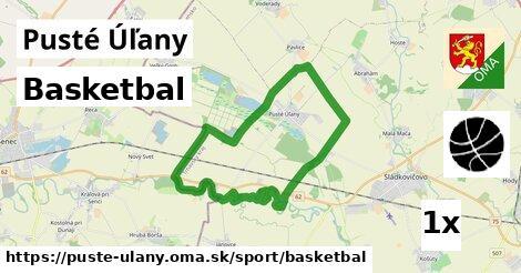 basketbal v Pusté Úľany
