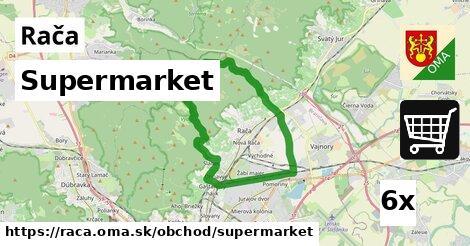 supermarket v Rača