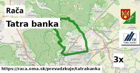 Tatra banka, Rača