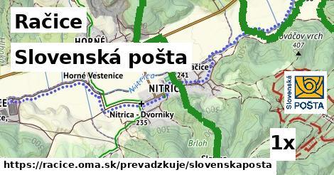 Slovenská pošta v Račice