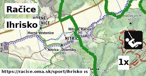 ihrisko v Račice