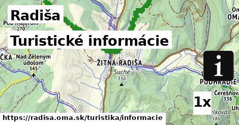ilustračný obrázok k Turistické informácie, Radiša
