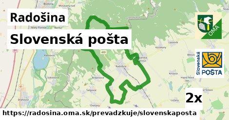 Slovenská pošta v Radošina