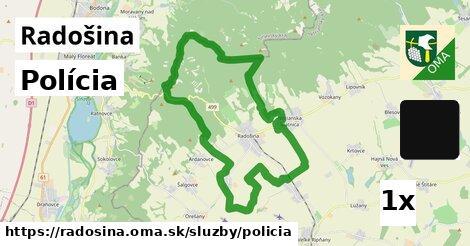 polícia v Radošina