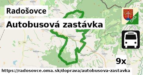 ilustračný obrázok k Autobusová zastávka, Radošovce