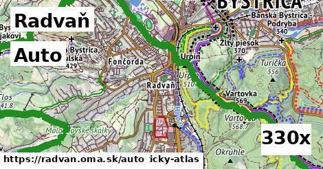 auto v Radvaň