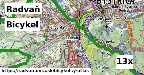 bicykel v Radvaň