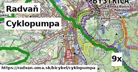 cyklopumpa v Radvaň