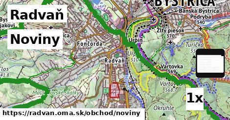 noviny v Radvaň
