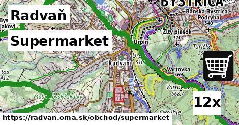 supermarket v Radvaň