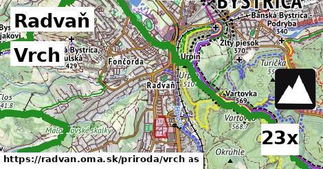 vrch v Radvaň