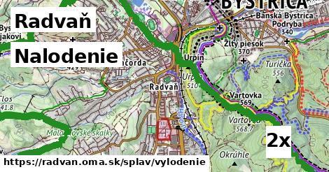 nalodenie v Radvaň