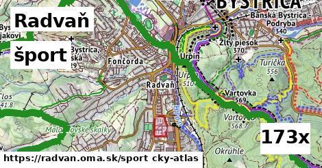 šport v Radvaň