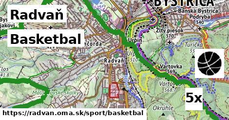 basketbal v Radvaň