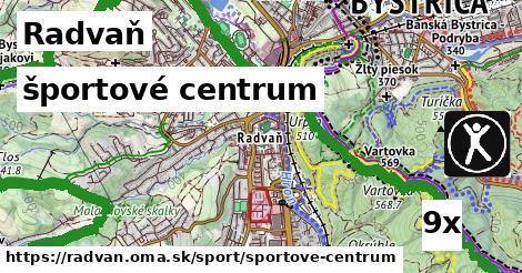 športové centrum v Radvaň