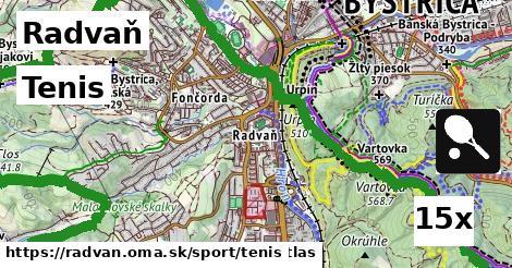 tenis v Radvaň