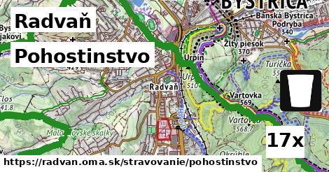 pohostinstvo v Radvaň