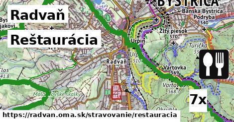 reštaurácia v Radvaň