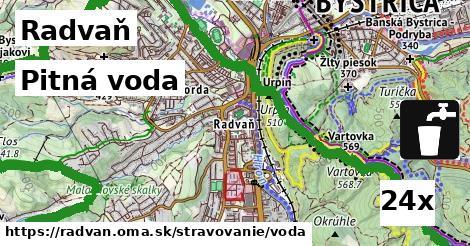 pitná voda v Radvaň