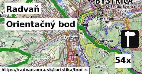 orientačný bod v Radvaň