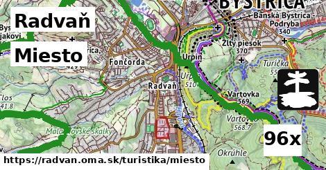 miesto v Radvaň