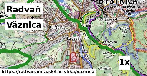 väznica v Radvaň