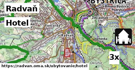 hotel v Radvaň