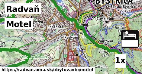 motel v Radvaň