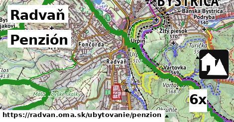 penzión v Radvaň