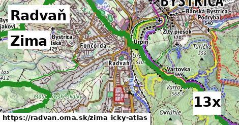 zima v Radvaň