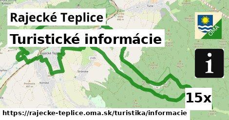 turistické informácie v Rajecké Teplice